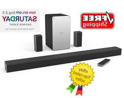 "VIZIO SmartCast 36"" 5.1 Wireless Soundbar System Built in Su"