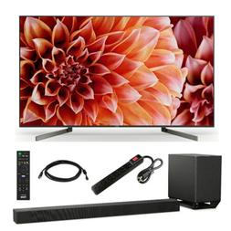 """Sony 65"""" X900F BRAVIA 4K HDR Ultra HD Smart LED TV with HTX9"""