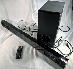 LG SOUND BAR MODEL NB3520A AND WIRELESS ACTIVE SUBWOOFER MOD