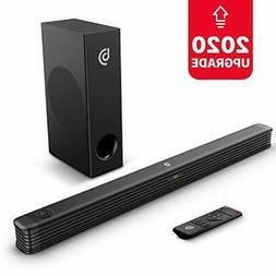 TV Sound Bar, Bomaker 150W Soundbar with Wireless Subwoofer,