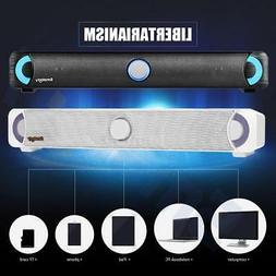 TV Surround Sound Bar System 10W Subwoofer Wireless Bluetoot
