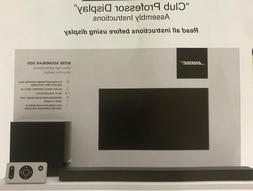 Ultimate Bose Soundbar 500 Home Theatre System w/ Soundbar,