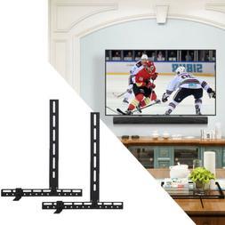 Universal Adjustable Soundbar Bracket Mount LCD LED TV VESA