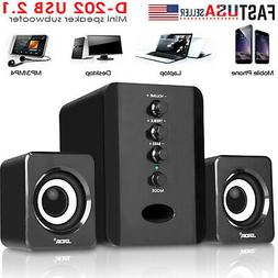SADA USB TV Home Theater Speaker System 3D Surround Sound Ba