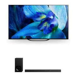"Sony XBR-65A8G 65"" BRAVIA OLED 4K HDR TV and HT-Z9F Dolby At"