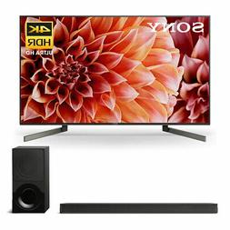 """Sony XBR-65X900F 65"""" BRAVIA 4K Ultra HD HDR Smart TV and HT-"""