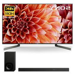 """Sony XBR-85X900F 85"""" BRAVIA 4K Ultra HD HDR Smart TV and HT-"""