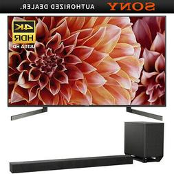 """Sony XBR55X900F 55"""" 4K HDR TV 3840x2160 & HSTS5000 7.1.2Ch D"""