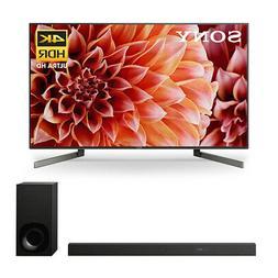 """Sony XBR55X900F 55"""" BRAVIA 4K Ultra HD Smart TV & HTZ9F Soun"""