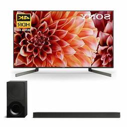 """Sony XBR55X900F 55"""" BRAVIA 4K Ultra HD Smart TV & HTX9000F S"""