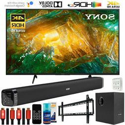 "Sony XBR85X800H 85"" X800H 4K UHD LED TV  with Deco Gear Soun"