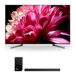 """Sony XBR85X950G 85"""" BRAVIA 4K Ultra HD HDR Smart TV and HT-Z"""
