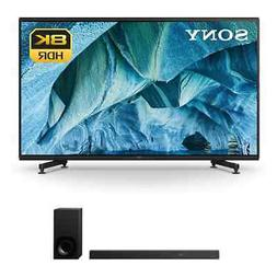 """Sony XBR85Z9G 85"""" 8K UHD HDR TV & HTZ9F 3.1-Channel Dolby At"""