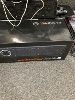 PowerBass XL-800  Marine ATV Amplified Pwr Sports Bluetooth